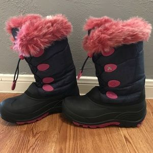 Kamik girls snow boot sz 5